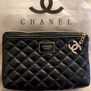Chanel beaut makeup bag